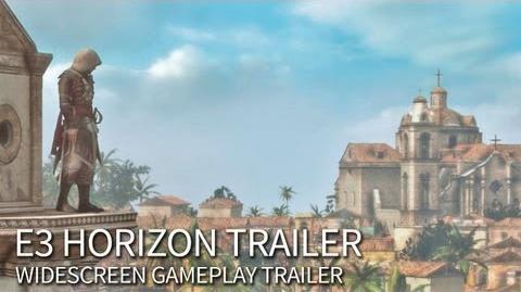 E3 Horizon Trailer Assassin's Creed 4 Black Flag North America