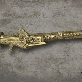 Het persoonlijke vuurwapen van Octavian de Valois.