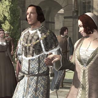 洛伦佐和妻子在大教堂