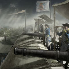 Spanish troops in New Orleans