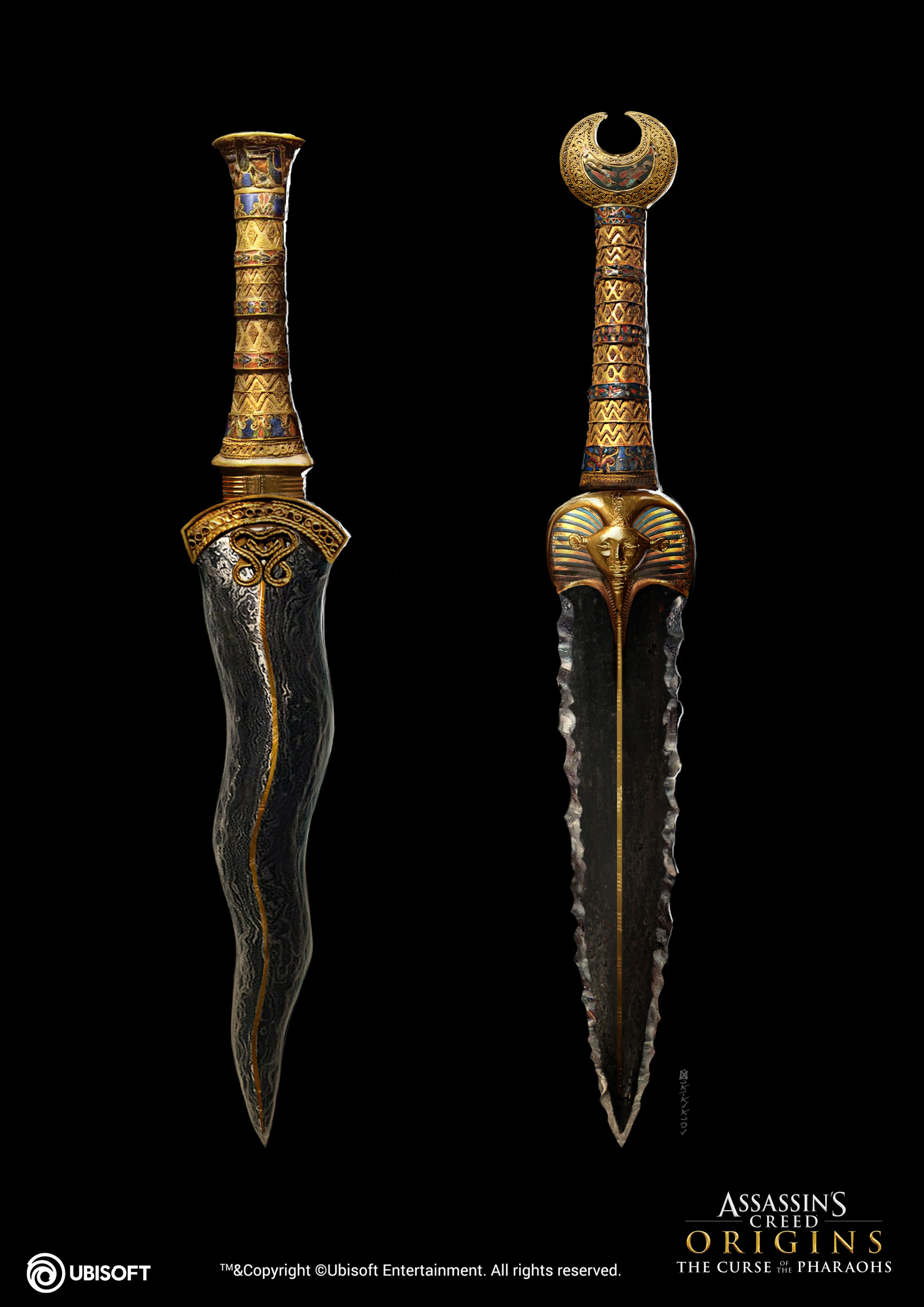 Daggers of Tutankhamun | Assassin's Creed Wiki | FANDOM powered by Wikia