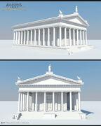 ACO Temple of Mars - Model