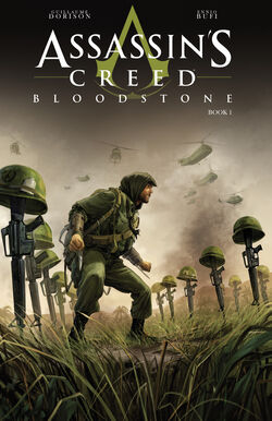 AC Bloodstone French Comics Cover