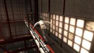 Desmond magazzino nascondiglio corsa acrobatica