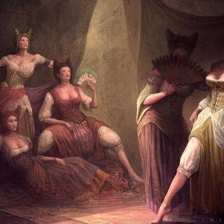 <i>Initiates</i> art of the Florentine courtesans
