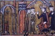 La bénédiction des rois et des papes