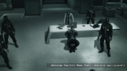 Title William Miles held captive at Abstergo