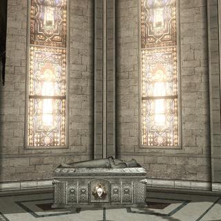 伊尔塔尼的石棺。