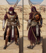 ACO Persian Commander outfit