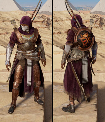 assassins creed origins bayek outfits