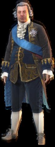 ACU Louis XVI Render