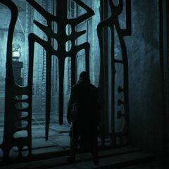 Arno face à l'artefact enfermé