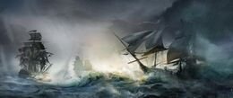 Assassin's Creed III Naval battle by max qin