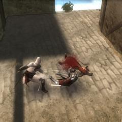 阿泰爾與聖殿騎士戰鬥