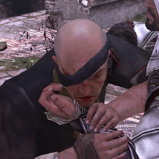 帕加尼诺用埃齐奥的袖剑自杀