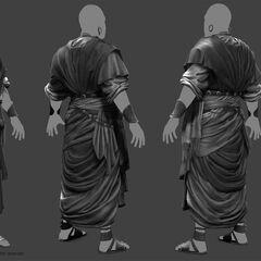 塔哈尔卡的人物模型