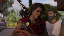 ACOD The Drachmae of Romance - Kassandra interrupting