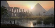 ACO Concept Art Pyramids Nile