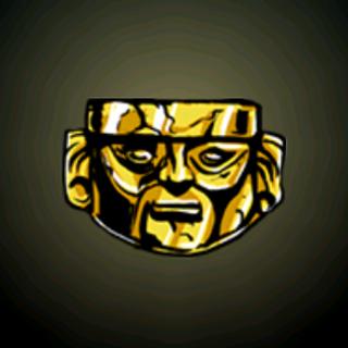 祭祀用面具 - 印加的黄金面具是铸造品质数一数二优越的圣物。