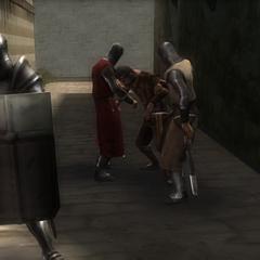 聖殿騎士侵擾民眾