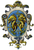 Coat of arms of the House of Pazzi by Alexander Liptak