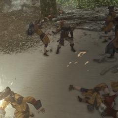 愛德華與西班牙侵略者作戰