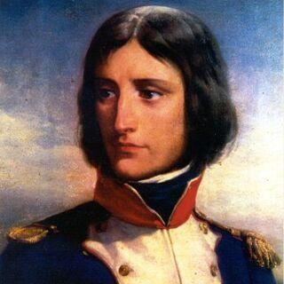 Portrait vom jungen Napoleon.