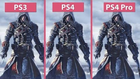 -4K- Assassin's Creed Rogue – Original PS3 vs. PS4 and PS4 Pro Remastered Graphics Comparison