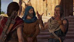 ACO Consulting a Ghost - Kassandra Finding Barnabas and Herodotos