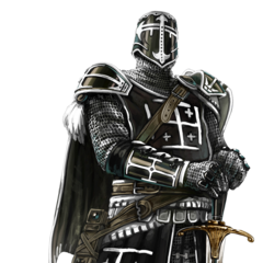 Concept art of the Crusader