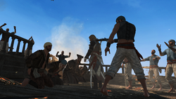 AC4 Captured Pirate Hunters