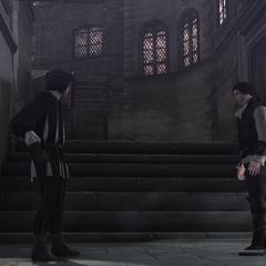 Vieri faisant face à Ezio