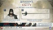 Assassin's Creed Unity Musketeer Pack