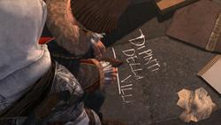 Message de Leonardo