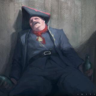 <i>Initiates</i> 中喝醉的多明格斯