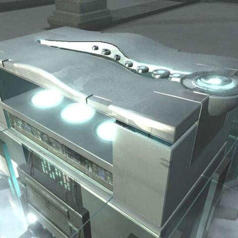 <i>L'Animus 1.28</i> d'<i>Abstergo Industries</i>