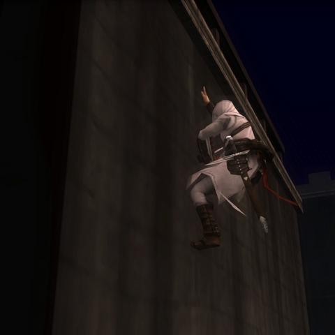 阿泰尔攀登城墙