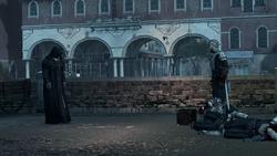 Konfrontacja Rodrigo z Ezio w Wenecji