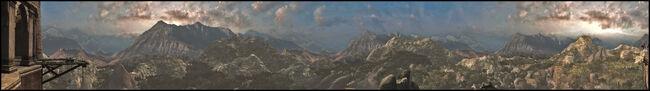 Masyaf kingdom viewpoint by murcuseo-d39jrgy
