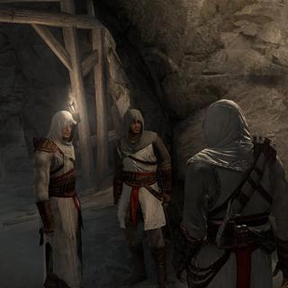 Les Assassins dans le <b>Temple</b>