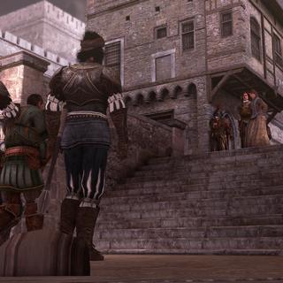 Octavian samen met Pantasilea.