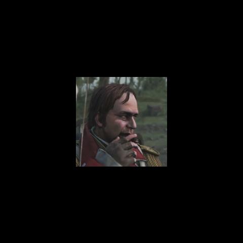 <b>Israel Putnam</b> fumant un cigare