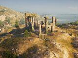 Burned Temple of Hera
