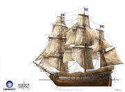 Assassin's Creed IV Black Flag -Ship-MerchantShipping by max qin