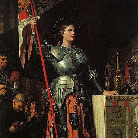<b>Jeanne d'Arc</b> au couronnement de <a href=