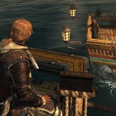 爱德华在海上见施蒂德最后一次面