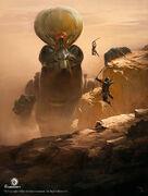 ACO Sekhmet Concept Art - Martin Deschambault