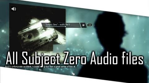 Assassin's Creed 4 Black Flag - All Subject Zero Audio Files