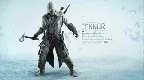 Assassin's Creed III Connor Teaser Trailer HD