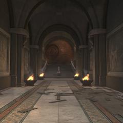 通往王座室的走廊
